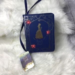 Disney Beauty & the Beast Belle Book Purse Handbag